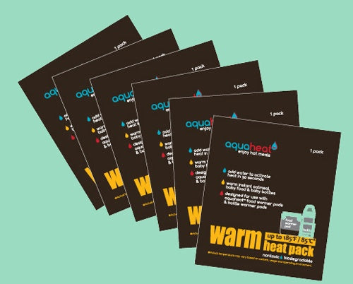 WARM Heat Pack set of 6