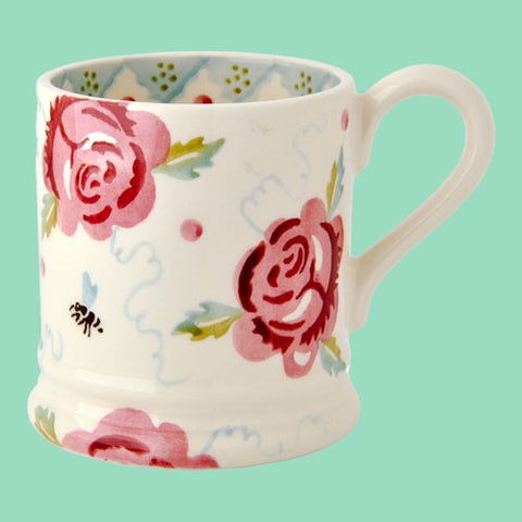 Emma Bridgewater Rose & Bee Mug
