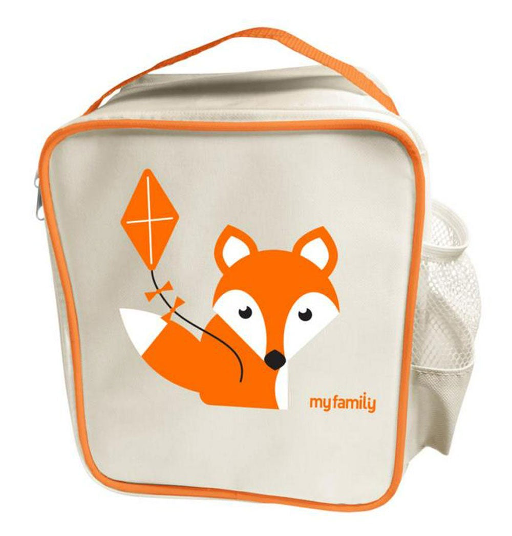 My Family Lunch Cooler Bag - Fox