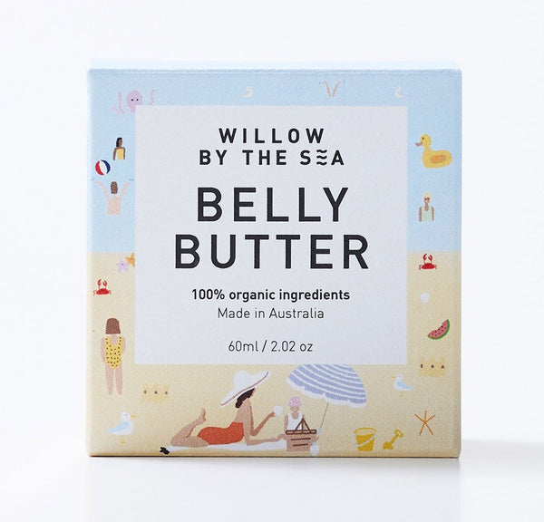 Willlow by the Sea Belly Butter 60ml
