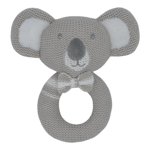 Knitted Rattle Kevin the Koala