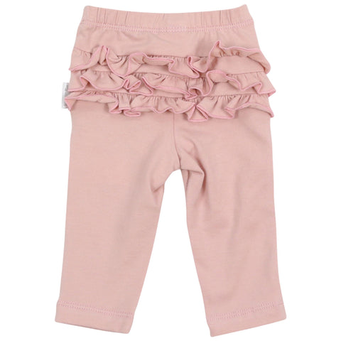 Korango Warratah Frill Legging Pink