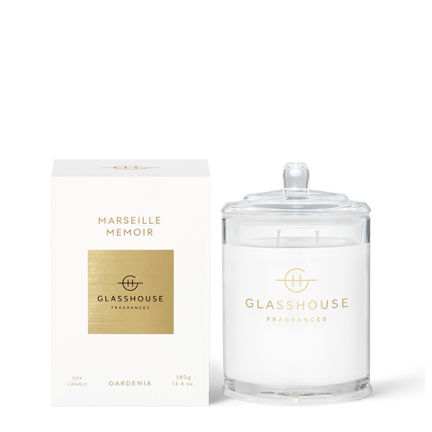 Glasshouse Candle Marseille 380g