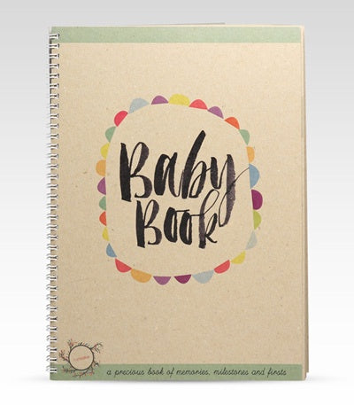 Rhi Creative Baby Book
