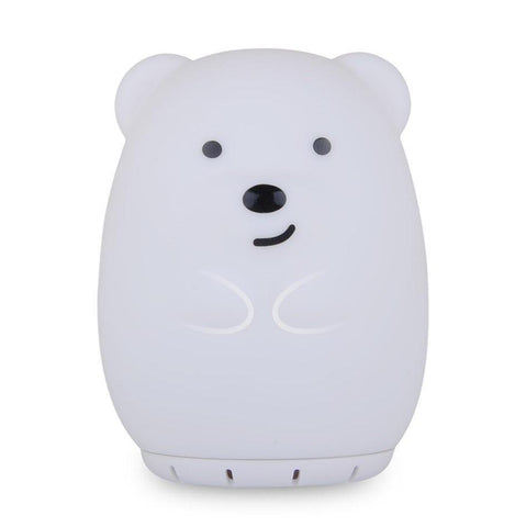 Duski Rechargeable Bluetooth Night Light Bear