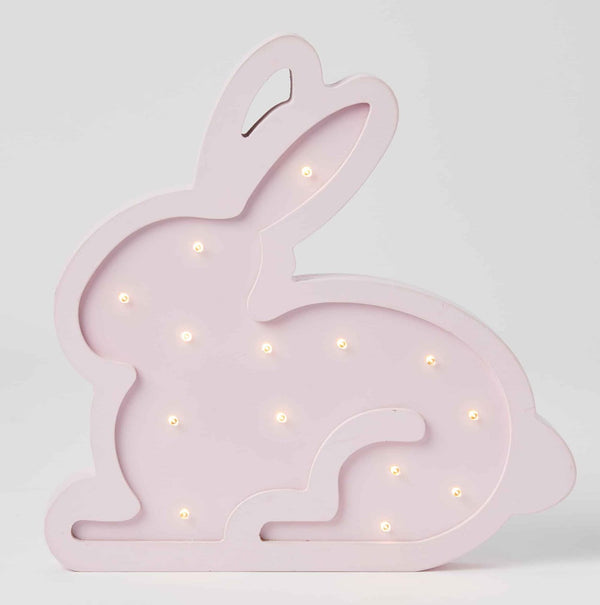 Wooden Light - Bunny