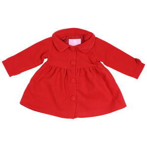 Korango Overcoat - Red
