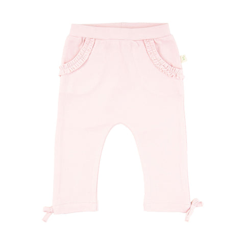 Tiny Twig Frill Leggings - Soft Pink