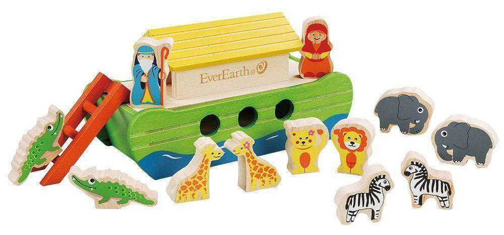 Noah's Ark wooden toy
