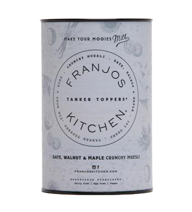 Franjo's Kitchen Date, Walnut & Maple Muesli
