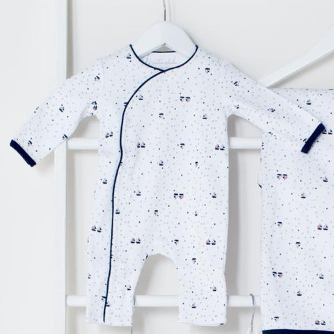 Emotion & Kids Yachts Cross Over Romper