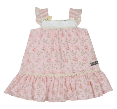 Arthur Avenue Pretty in Pink Babydoll Dress