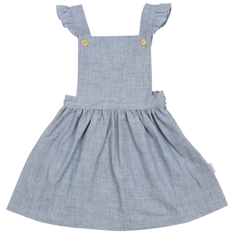 Girls Pinafore Blue