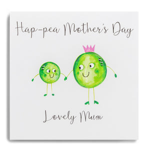 Hap-pea Mother's Day Card
