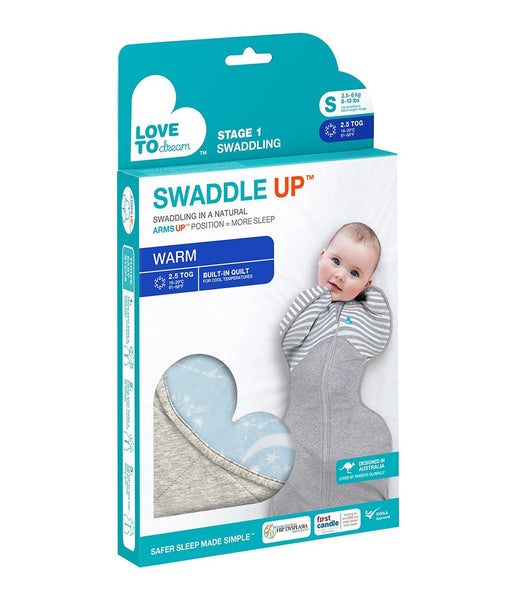 LTD Swaddle Up 2.5 tog Blue