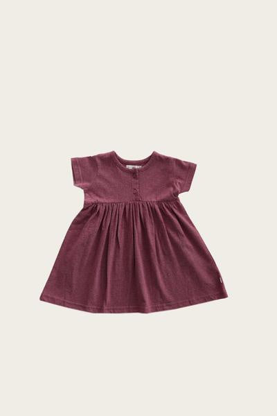 Jamie Kay S/S Dress Raspberry