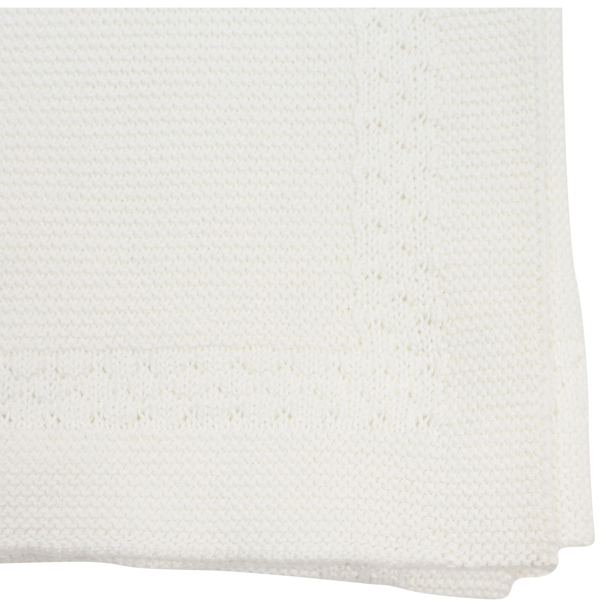 Korango Links Knit Blanket - Ivory