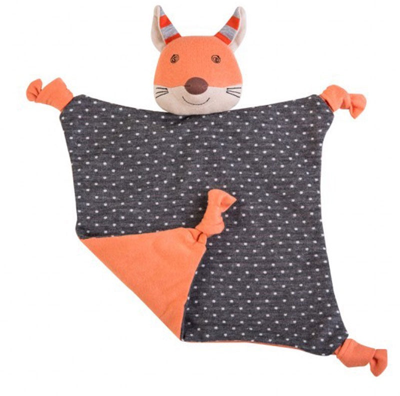 Organic Farm Buddy Frenchy Fox Blankie