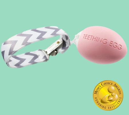 The Teething Egg - Pink