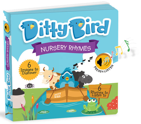 Ditty Birds Nursery Rhymes Book