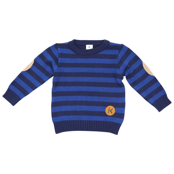 Korango Boys Aeroplane Knit Sweater