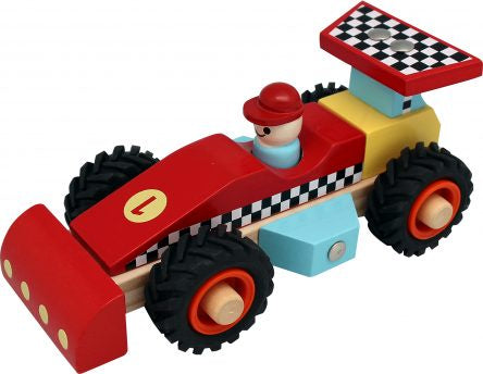 Wood Racing Car