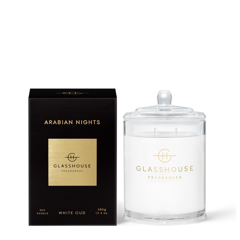 Glasshouse Candle Arabian Nights 380g