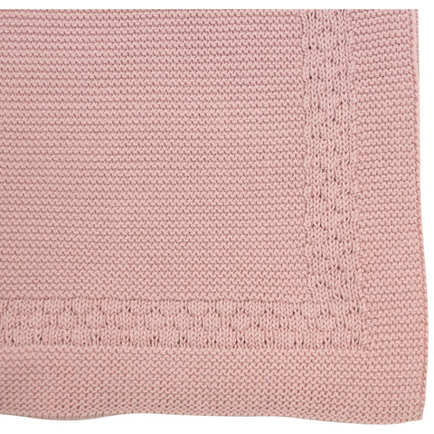 Korango Links Knit Blanket - Pink
