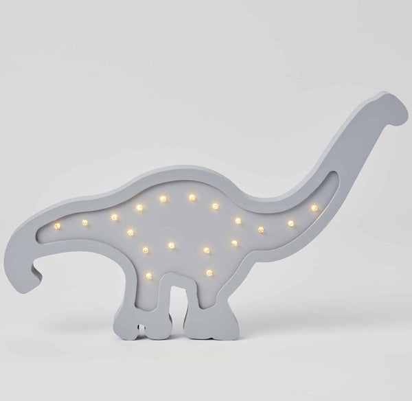 Wooden Light - Brontosaurus