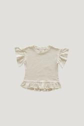 Jamie Kay Slub Cotton Eden Top Cloud 4Y