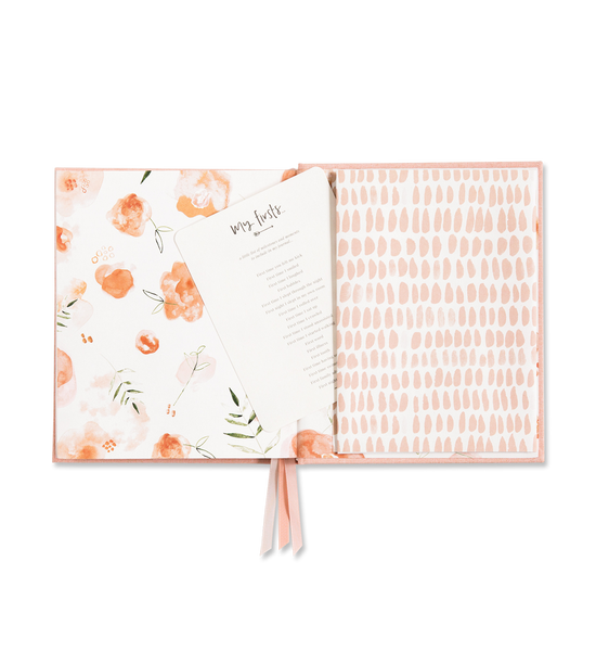 Emma Kate Co Baby Journal Petal Pink