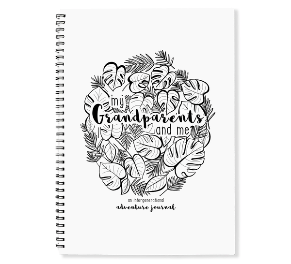 Blueberry Co Grandparents & Me Book