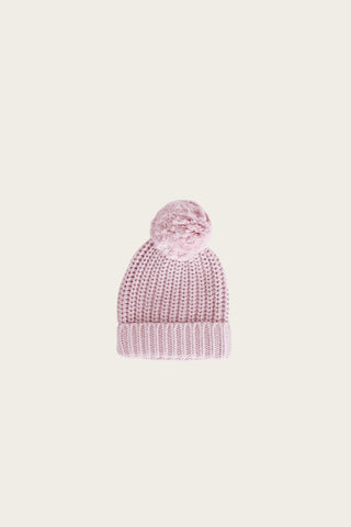 Jamie Kay Cosy Hat Old Rose