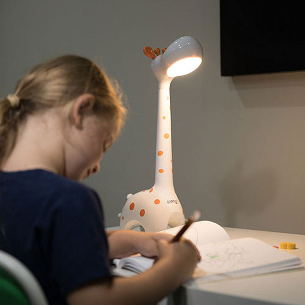 Giraffe Lamp - White