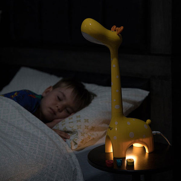 Giraffe Lamp - Yellow