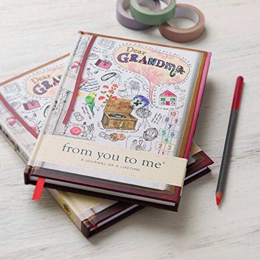 Grandma From You To Me Journal
