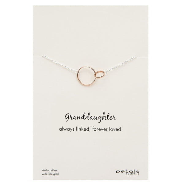 Petals Necklace - Grandaughter