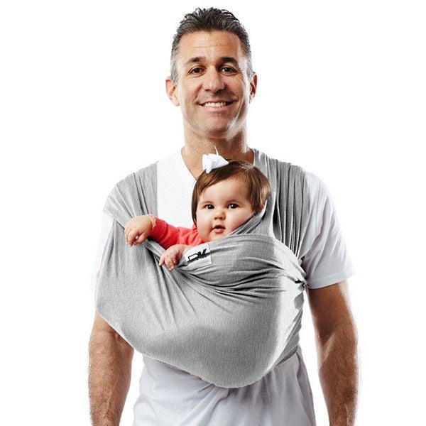 Baby K'Tan Baby Carrier Heather Grey