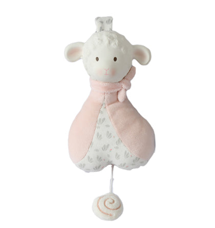Lila Lamb Musical Toy Pink