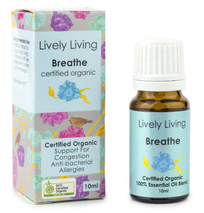 Lively Living Breathe Organic Oil