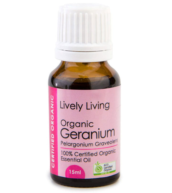Lively Living Geranium Organic Oil