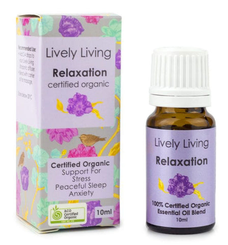Lively Living Relaxation Organic Oil