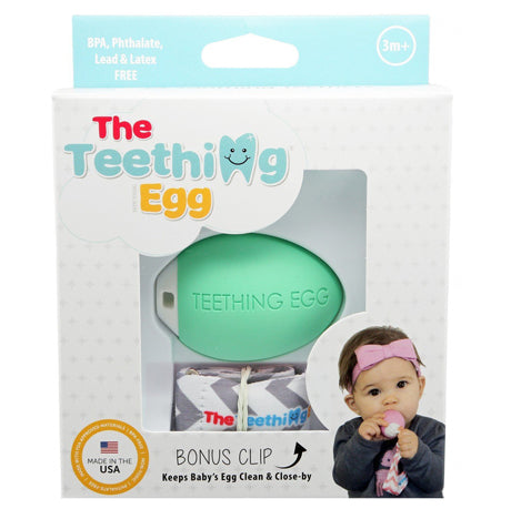 The Teething Egg -  Mint