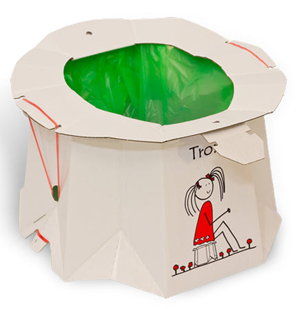 Tron Disposable Potty - 3 Pack