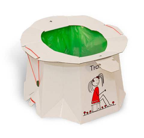 Tron disposable potty