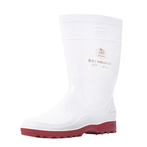 White / Red Gumboot