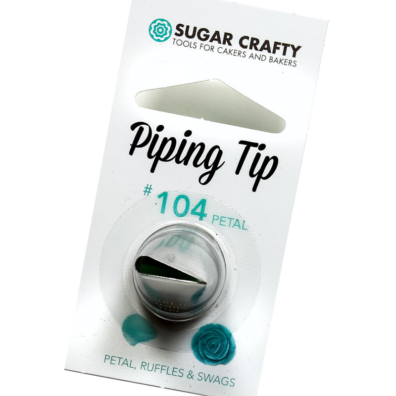 Sugar Crafty Petal Piping Tip #104 - Create That Cake