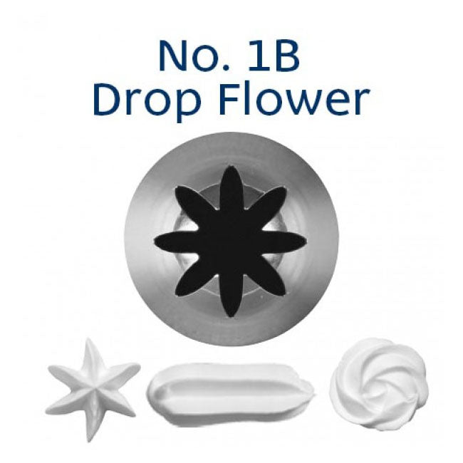 1B Piping Tip - Drop Flower
