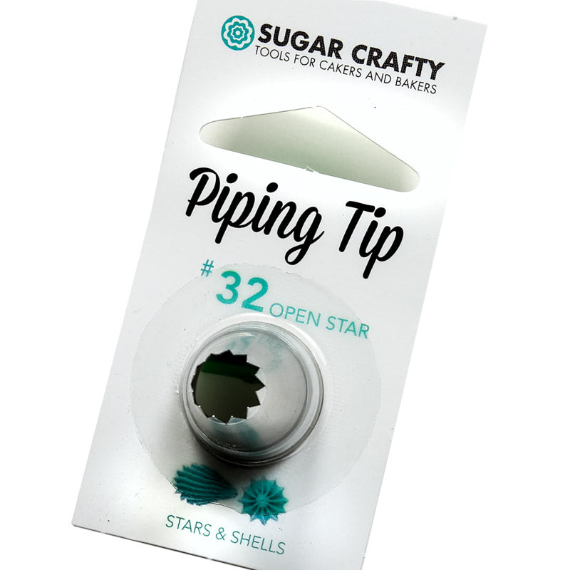 #32 Piping Tip Open Star