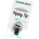 Sugar Crafty Basket Weave Piping Tip #47 - Create That Cake